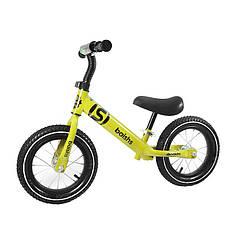Беговел дитячий Baishs 058 Yellow двоколісний велосипед без педалей для малюків