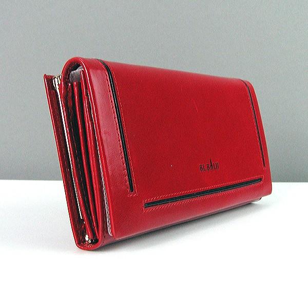 Кошелек кожаный женский красный Bl Balli 20-588-5