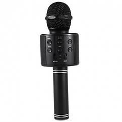 Караоке мікрофон WS-858 (Чорний)