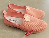 Женские мокасины GIPANIS SU 536 ПУДРА, фото 7