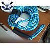 Фал для водних атракціонів Towrope 4P Blue 16,8 м, 1882 кг / 4150 КГ, до 4-х осіб, карабін нержавійка, фото 2