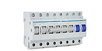 Модульный Переключатель однофазный Hager SF463 I-0-II 3+N 63А/400В 8м