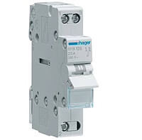 Модульный Переключатель однофазный Hager SFT125 1P 25А/230В 1м I-0-II