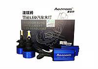 Автолампы LED светодионые Aozoom ALH-12 Н11 Н8 Н9 Н16 55Вт 9400Лм 12В 6500K