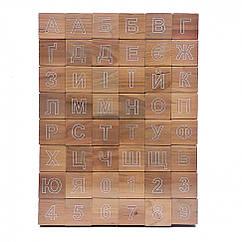 Азбука дерев'яна 11200A