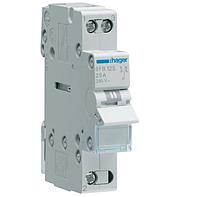 Модульный Переключатель однофазный Hager SFT140 1P 40А/230В 1м I-0-II