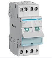 Модульный Переключатель однофазный Hager SFB232 1-0-2 2P 32А/230В