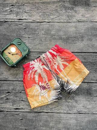 Мужские плавательные шорты оранжевого цвета, фото 2