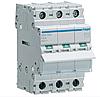 Модульний Вимикач навантаження однофазний Hager SBN390 3P 100А/400В 3м