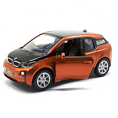 "Машинка модель Kinsmart 5"" BMW i3 KT5380W (Помаранчевий)"