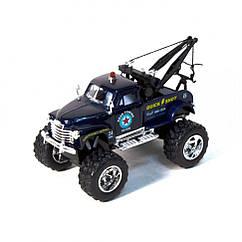 Машинка евакуатор CHEVROLET 3100 WRECKER Kinsmart KT5333W інерційна, 1:38 (Синій)