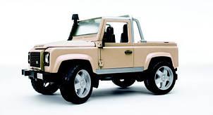 Джип Land Rover Defender Pick Up 02591, М1:16