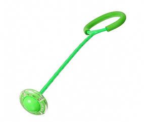 Нейроскакалка A-Toys SR19001 62 см, що світиться (Зелений)