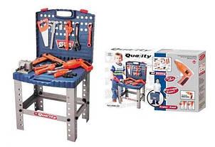 Игровой набор инструментов 008-22 чемодан -стол