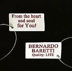 Браслет на руку женский BERNARDO BARETTI со стразами в бархатном футляре (B019), фото 7