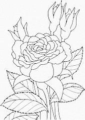"Роспись на холсте. Art Craft ""Роза"" 25х30 см 15505-AC"