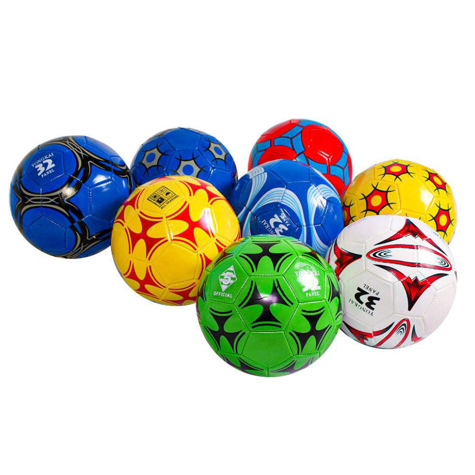 М'яч футбольний Metr+ BT-FB-0293 10 видів, діаметр 21 см
