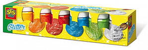 Гуашь - СВЕРКАНИЕ 00333S (6 цветов, в пластиковых баночках)