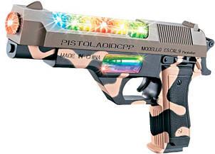 Пистолет со световым и звуковым эффектом Desert Eagle ZIPP Toys  814Y