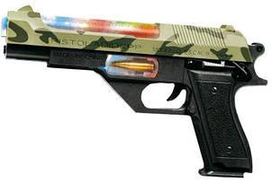 """Пистолет со световым и звуковым эффектом """"Пустынный орел"""" ZIPP Toys 814ZT"""