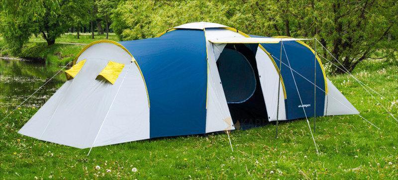 Палатка шестиместная  Presto Acamper NADIR 6 PRO синяя