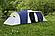 Палатка шестиместная  Presto Acamper NADIR 6 PRO синяя, фото 5