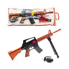 """Автомат-трещотка """"M16"""" с гранатой 805"""