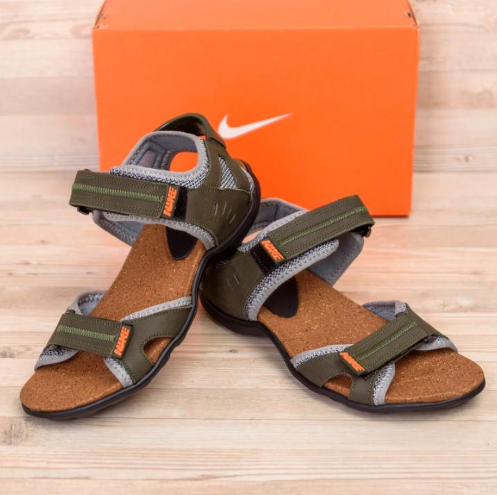 Чоловічі шкіряні сандалі Nike Active Drive Olive