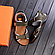 Чоловічі шкіряні сандалі Nike Active Drive Olive, фото 3