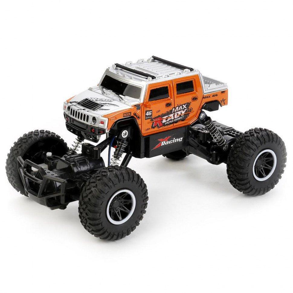 Джип Rock Crawler на р/у SL-102A (Оранжевый)