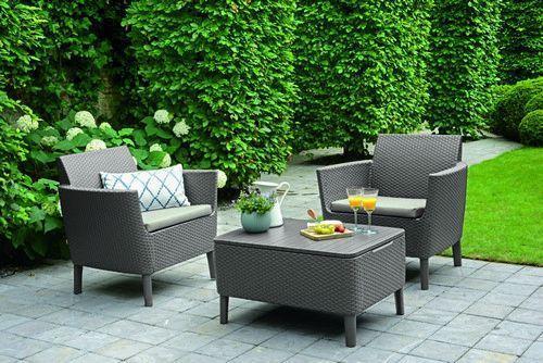 Набір меблів для саду Salemo balcony set капучино - песок