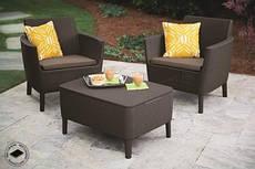 Набор мебели для сада Salemo balcony set коричневый