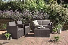 Комплект садовой мебели Monaco set серый