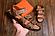Сандали мужские кожаные Nike ACG оливковые, фото 2