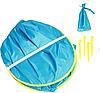 Палатка детская игровая с бассейном 117х79см, фото 5