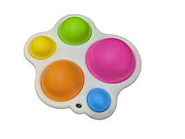 Сенсорна іграшка Simple Dimple поп іт антистрес сімпл дімпл pop it краб