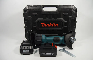 Аккумуляторная болгарка Makita DGA504ZL ( 24V, Ø125 мм)