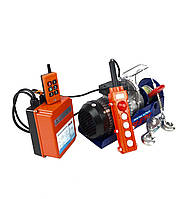 ALFA електрическая канатная лебідка ALEH800TR 1800Вт 400/800 12/6м