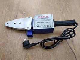 Паяльник для пластикових труб Alfa LPW02