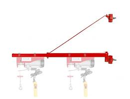 Поворотна рама для кріплення Тельфера 600кг 1100мм