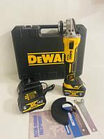 Аккумуляторная болгарка (ушм) Dewalt DCG405 brushless (безщеточная) 2акб