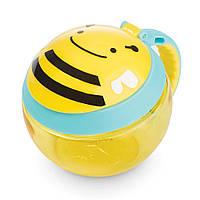 "Skip hop, Контейнер-чашка для снеков  ""Пчёлка"""