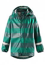 Демисезонная куртка-дождевик для мальчика Reima Vesi 521523-8863. Размеры 104 - 122.