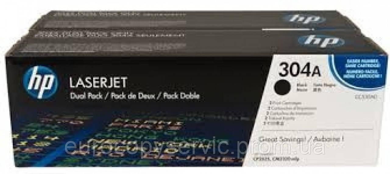 Картридж HP Color LaserJet CM2320nf black Dual pack (CC530AD)