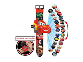 """Часы наручные детские с 3d проектором """"Cars / Lightning McQueen (Тачки / Молния Маквин)"""""""