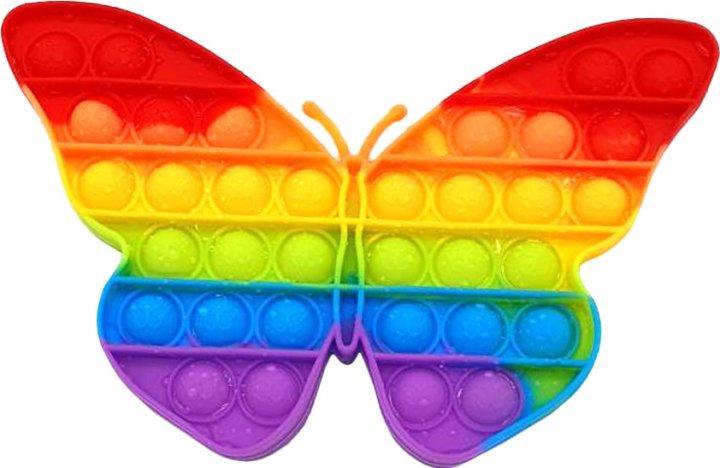 Іграшка антистрес вічна пупырка Pop It Метелик
