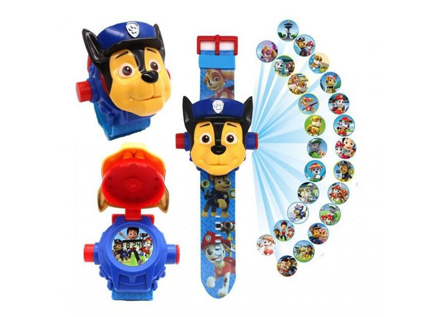 Игровой набор Проекционные Часы Projector Watch Щенячий Патруль с 24 видами изображениями героев мультфильма