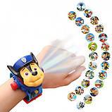 Игровой набор Проекционные Часы Projector Watch Щенячий Патруль с 24 видами изображениями героев мультфильма, фото 3
