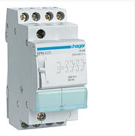 Импульсное реле Hager EPN525 230В/16А, 2НВ+2НЗ, 2м