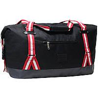 Сумка дорожная Bagland Preston, спортивная туристическая сумка для путешествий 54 л. Чёрный (0031766), фото 1
